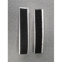 Starkes Klettband 100mm Schwarz