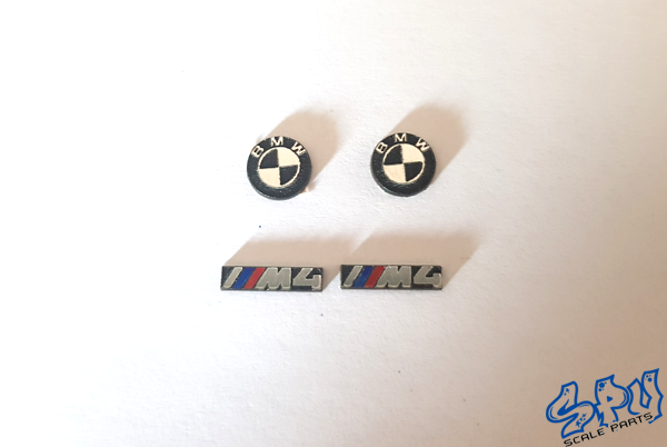 Emblems BMW M4 with or without colour