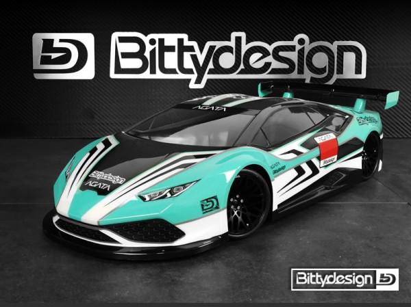 Bittydesign 1/10 GT Agata 190mm Clear Body