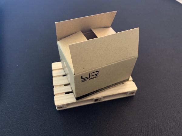 1/10 Scale Kartons mit und ohne Logo 4stk.