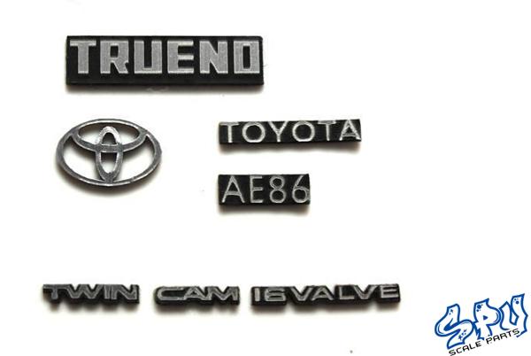 Embleme Toyota Trueno AE86