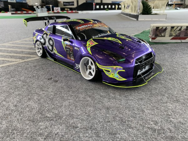 frontlip for Yokomo GTR R35