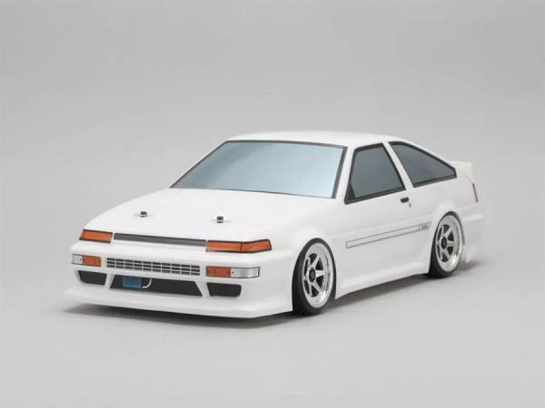 Yokomo Toyota AE86 Trueno unlackiert