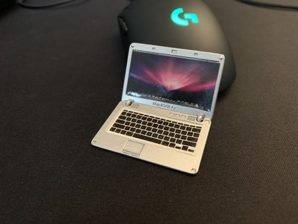 """Scale Laptop """"Macbook"""" für Werkstatt oder Verkaufsläden"""