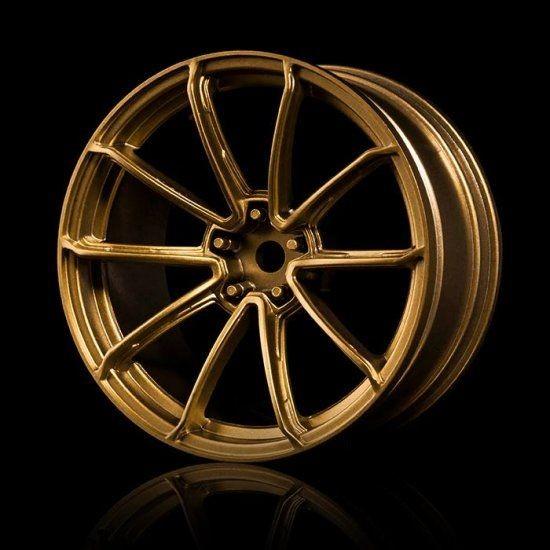 Gold GTR Wheels 5Offset 4pcs.