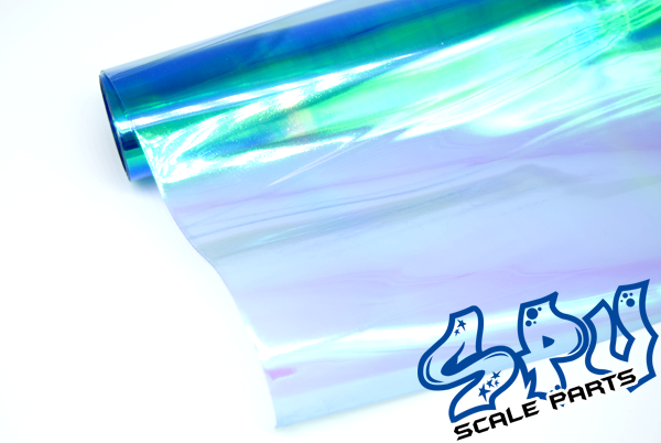 Blue Chamäleon 30x30