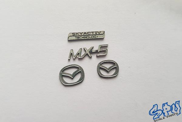 Embleme Mazda MX5 2016 Skyactiv