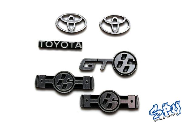 Embleme Toyota GT86