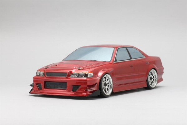 Goodyear Racing with Kunnyz JZX100 Chaser Body Set No Decals unlackiert