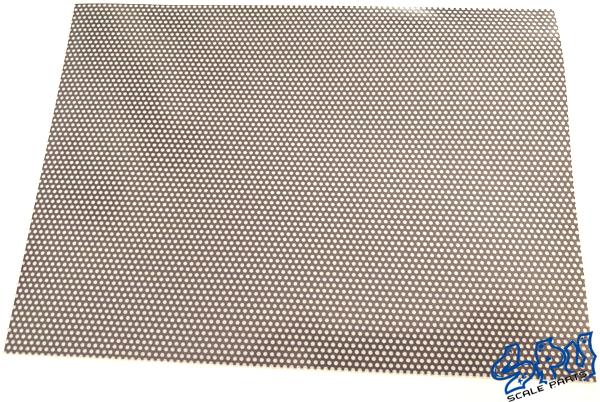 Wabengitter Kreis Grau groß