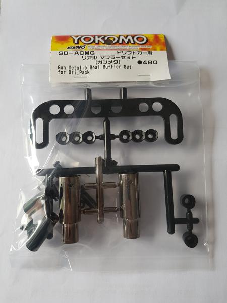 Muffler Set Gunmetal