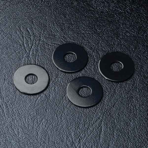 Wheel shims +offset black 4pcs. +0.5mm