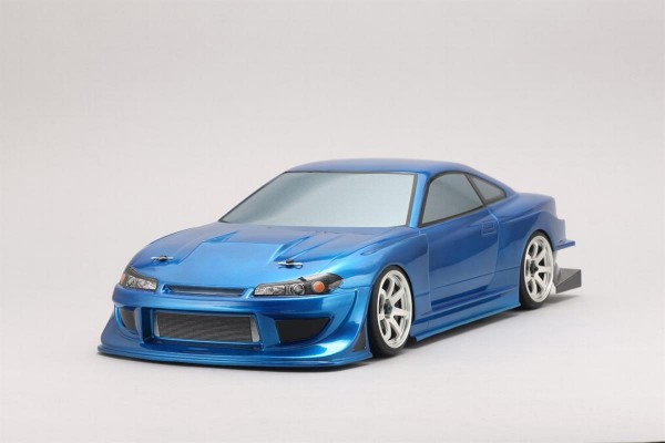 Team Toyo with GP Sports S15 Silvia Body Set No Decals unlackiert
