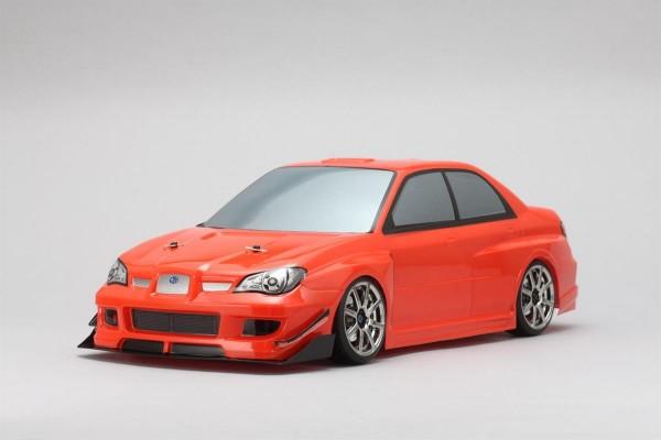 Yukes SYMS Subaru GDB Impreza Body Set No Decals unlackiert