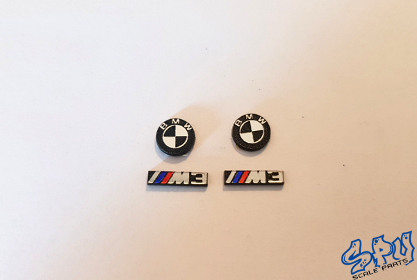 Emblems BMW M3 with or without colour