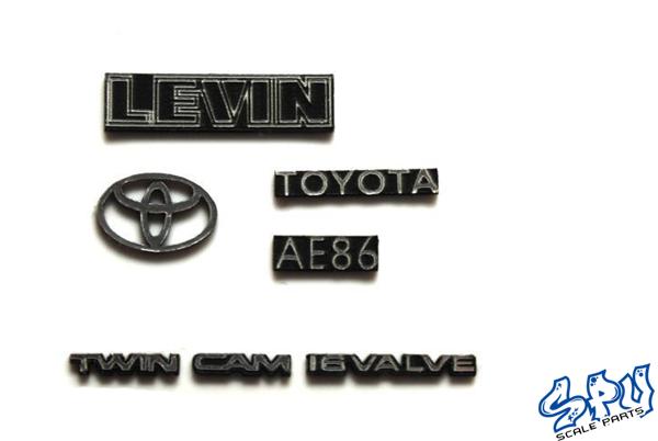 Embleme Toyota Levin AE86