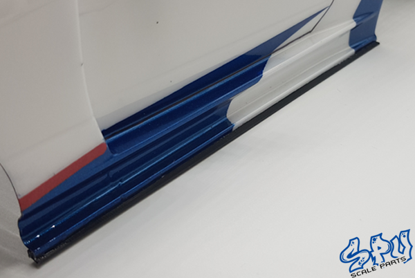 Sideskirts narrow bnlack universal 187mm