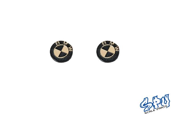 BMW logo 2pcs.