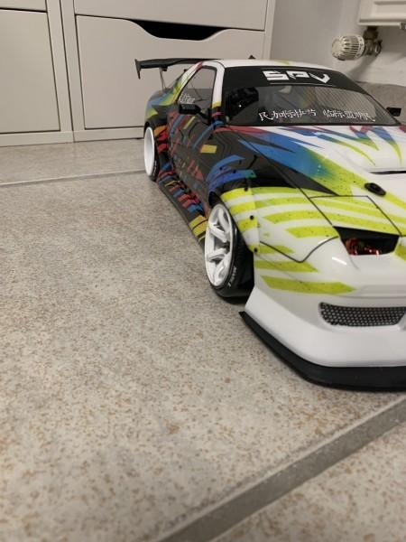 Yokomo Fc3S Custom full airbrush NAGELNEU